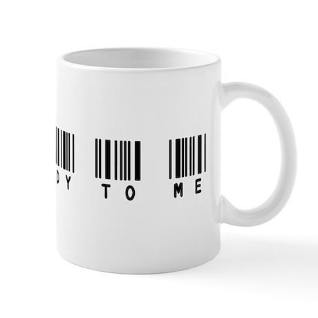 Talk Nerdy to Me Barcode Mug