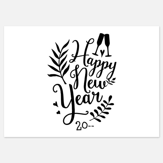 Happy New Year Invitations