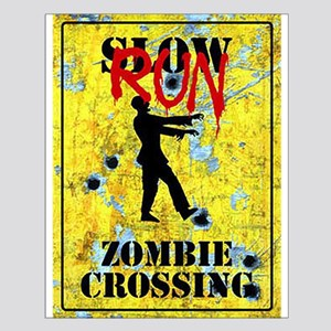 RUN Zombie Crossing Posters