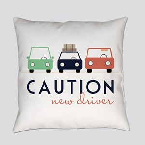 Caution New Driver Everyday Pillow