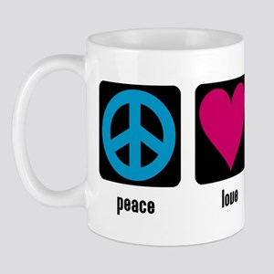 Peace, Love, Massage Mug