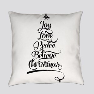 Christmas Tree Everyday Pillow