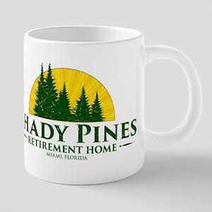 Shady Pines Logo Mugs