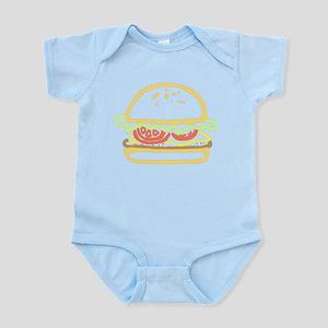fast food hamburger Body Suit