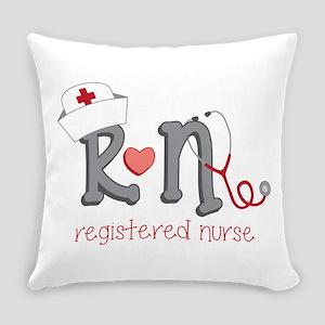 Registered Nurse Everyday Pillow