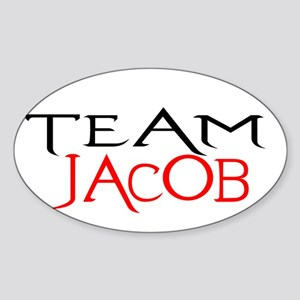 Team Jacob Oval Sticker