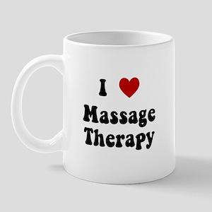 I Love Massage Therapy Mug