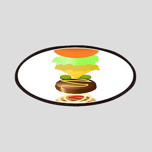 hamburger art Patch