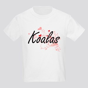 Koalas Heart Design T-Shirt