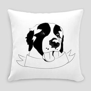 St Bernard Everyday Pillow