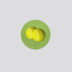 Tennis Sport Mini Button