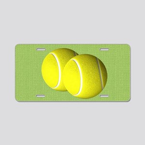 Tennis Sport Aluminum License Plate