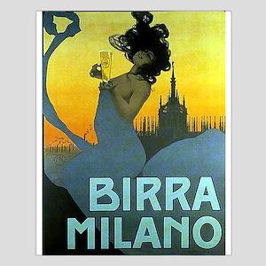 Birra Milano Vintage Advertisement Posters