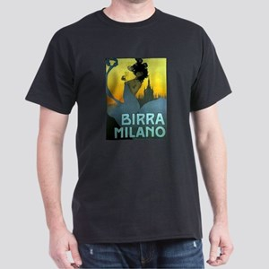 Birra Milano Vintage Advertisement T-Shirt