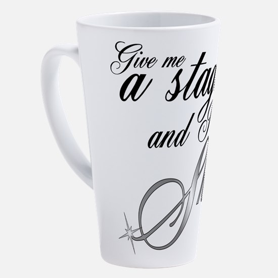 Cute Performing arts 17 oz Latte Mug