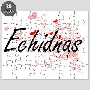 Echidnas Heart Design Puzzle