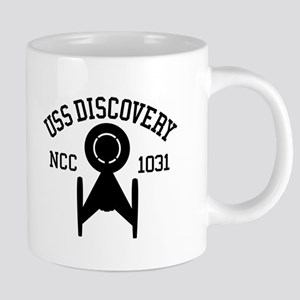 USS Discovery Athletic Style Mugs