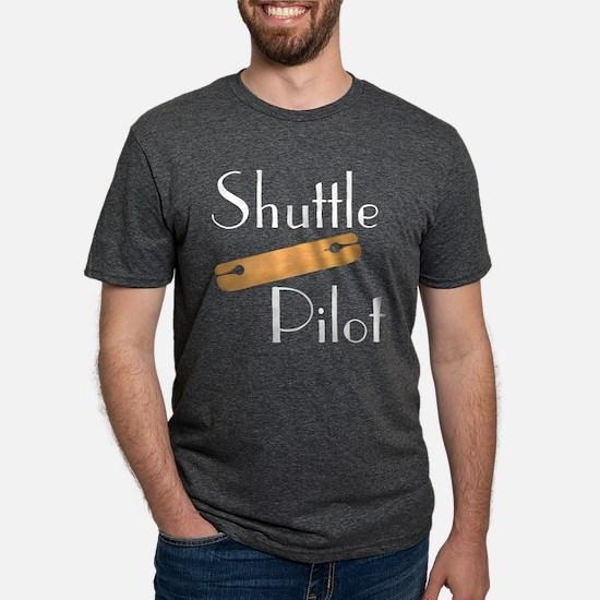 Shuttle Pilot Black T-Shirt