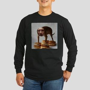 Brett Dog Burger Stand Long Sleeve T-Shirt