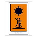Tarot Sun Small Poster