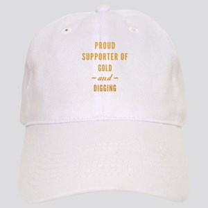 Gold And Digging Cap