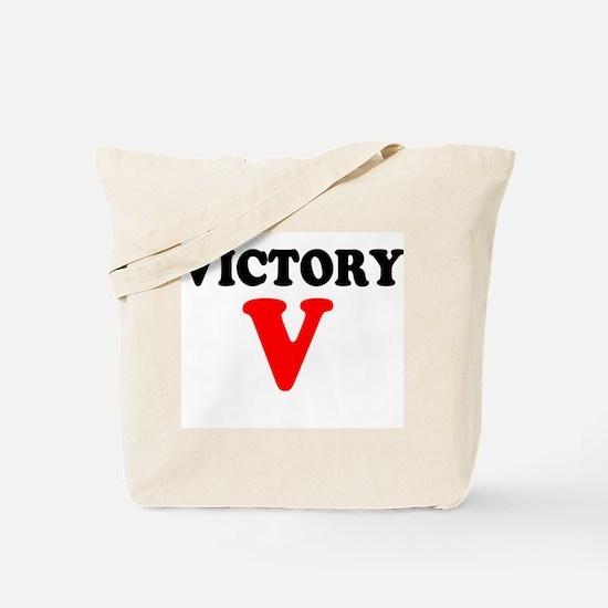 VICTORY V - Tote Bag