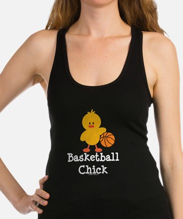 Cute High school basketball Racerback Tank Top