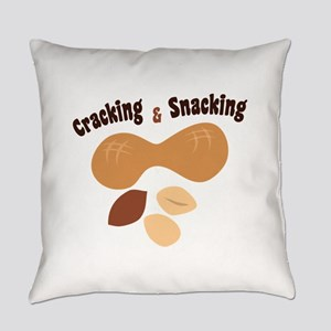Cracking & Snacking Everyday Pillow