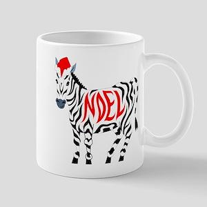 Christmas Noel Zebra Mugs