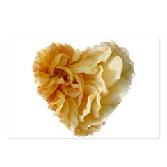 Rose Petals Heart #3725 Postcards (Package of 8)