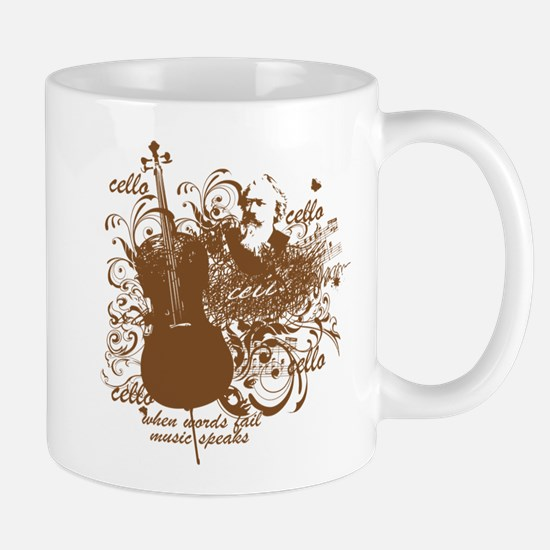 Cute Cello teacher Mug