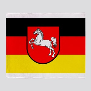 Lower Saxony Throw Blanket