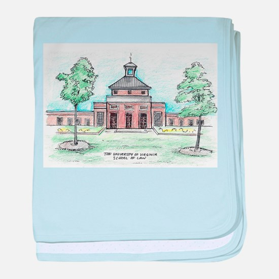 University of Virginia School of Law baby blanket