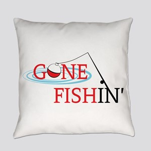 Gone fishing bobber and fishing pole Everyday Pill