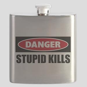 Danger Stupid Kills Flask