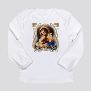 Mary was Pro-Life (square) Long Sleeve T-Shirt