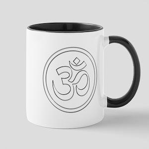 Namaste Om Shanti Mugs