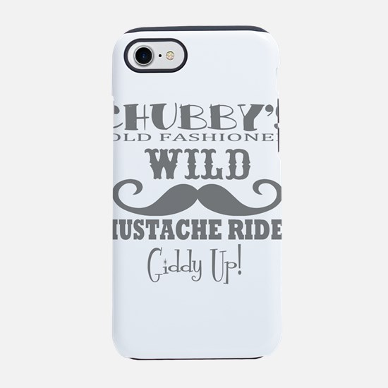 Chubby's Mustache rides iPhone 8/7 Tough Case
