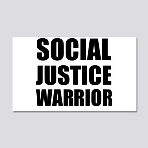 Social Justice Warrior Wall Decal
