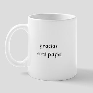 gracias a mi papa Mug