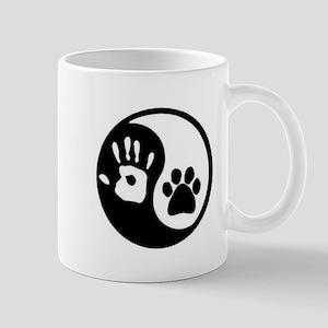 Yin Yang Hand & Paw Mugs