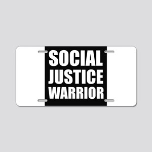 Social Justice Warrior Aluminum License Plate