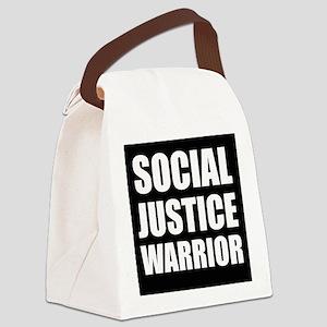 Social Justice Warrior Canvas Lunch Bag