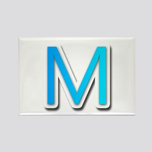 M Rectangle Magnet