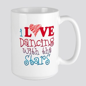I Love Dancing Wtih The Stars Mug Mugs