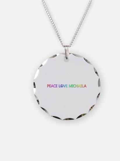 Peace Love Michaela Necklace