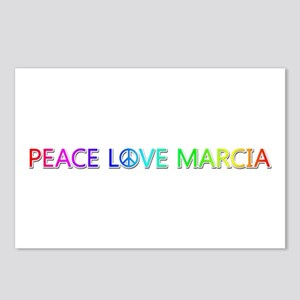 Peace Love Marcia Postcards 8 Pack