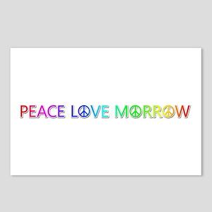 Peace Love Morrow Postcards 8 Pack