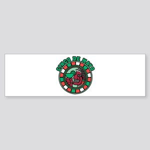 Cinco de Mayo (Margarita) Bumper Sticker