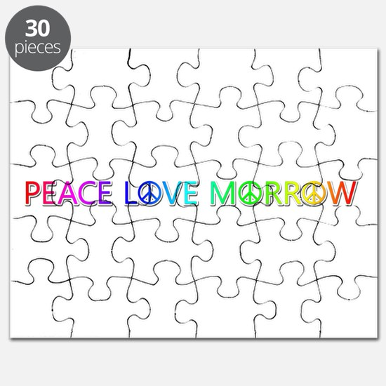 Peace Love Morrow Puzzle